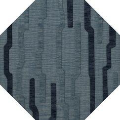 Hashimoto Wool Saltwater Area Rug Rug Size: Octagon 8'