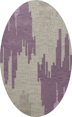 Haslett Wool Thistle Area Rug Rug Size: Oval 4' x 6'