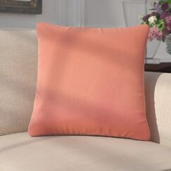 Paizlee Solid Down Filled Throw Pillow Size: 24