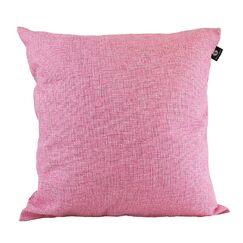 Home Decor Couch Cotton Pillow Cover Color: Light Hot Pink, Size: 20