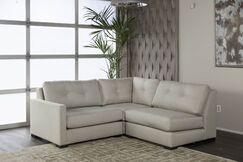 Secrest Plush Deep Modular Sectional Upholstery: Sand, Orientation: Left Hand Facing