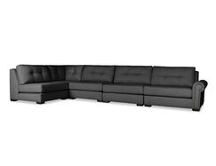 Lebanon Modular Sectional with Ottoman Upholstery: Charcoal