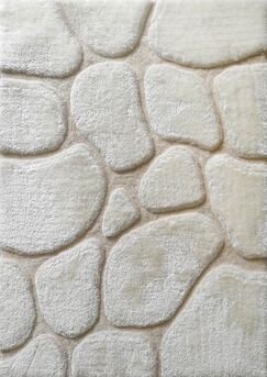 Widcombe Hand-Tufted Ivory Area Rug Size: Rectangle 5' x 7'