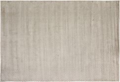 Bakerstown Hand-Tufted Silk Silver Indoor Area Rug Rug Size: Rectangle 4'1