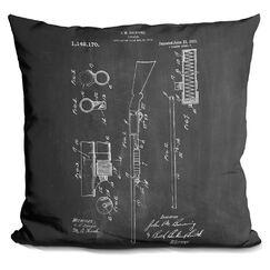Chamberland Ithaca Shotgun Throw Pillow