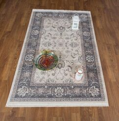 Brompton Oriental Light Gray Area Rug Rug Size: Rectangle 8' x 10' 2