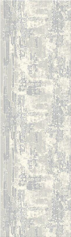 Acuna Gray Area Rug Rug Size: Runner 2'3