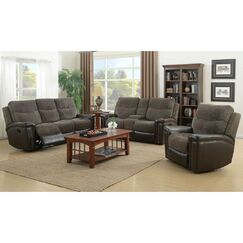 Deniece Reclining 2 Piece Living Room Set