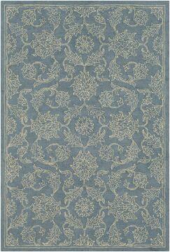 Puttney Hand Hooked Wool Denim/Khaki Area Rug Rug Size: Rectangle 9' x 13'