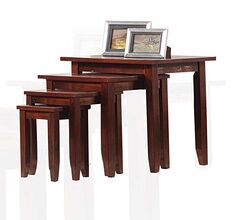 Straus Stand 4 Piece Nesting Table