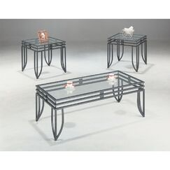 Rosengard 3 Piece Coffee Table Set