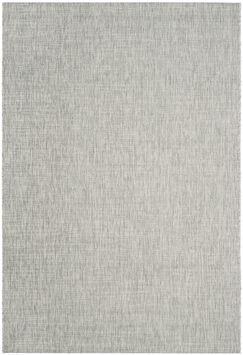 Adelia Gray/Turquoise Indoor/Outdoor Area Rug Rug Size: Rectangle 5'3