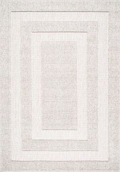 Budd Beige Area Rug Rug Size: Rectangle 7'10