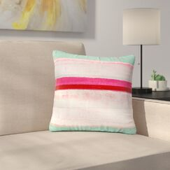 CarolLynn Tice Higher Outdoor Throw Pillow Size: 16