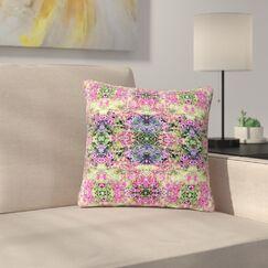 Carolyn Greifeld Cascade Reflections Abstract Outdoor Throw Pillow Size: 16
