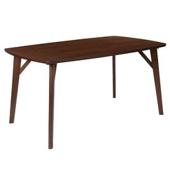 Mccampbell Dining Table Color: Walnut