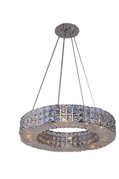 Mcdowell Glam 4-Light Crystal Chandelier
