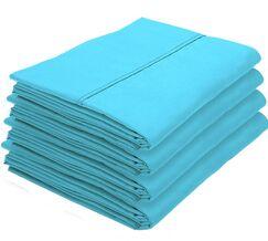 Rettig Pillowcase Color: Aqua, Size: King