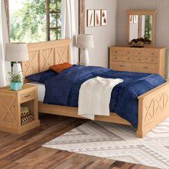Burbury Country Lodge Panel Configurable Bedroom Set Size: Queen