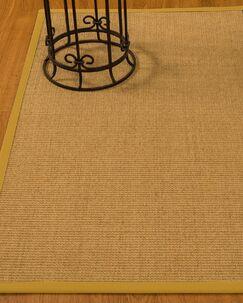 Busey Hand-Woven Beige Area Rug Rug Size: Rectangle 6' x 9'