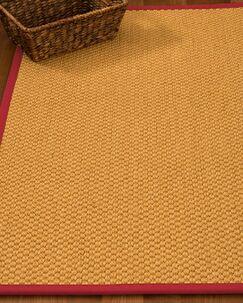 Kimes Hand-Woven Beige Area Rug Rug Size: Rectangle 8' x 10'
