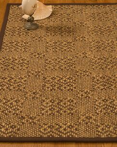 Bischoffs Hand-Woven Brown Area Rug Rug Size: Rectangle 4' x 6'