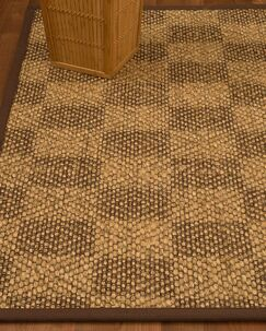 Badley Hand-Woven Beige/Brown Area Rug Rug Size: Rectangle 5' x 8'