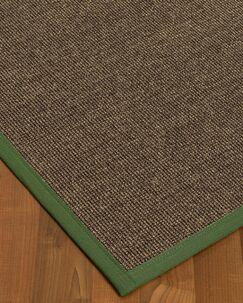 Bafford Hand-Woven Black Area Rug Rug Size: Rectangle 9' x 12'