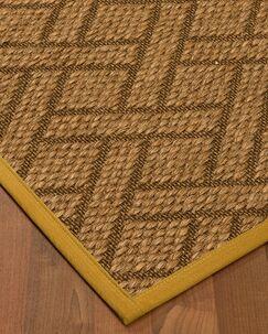 Kimbro Hand-Woven Beige Area Rug Rug Size: Rectangle 9' x 12'