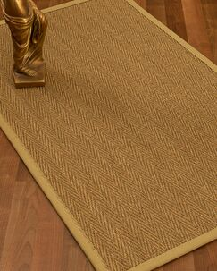 Mahaney Border Hand-Woven Beige Area Rug Rug Size: Rectangle 5' x 8', Rug Pad Included: Yes