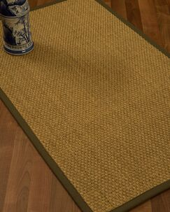 Rosabel Border Hand-Woven Beige/Malt Area Rug Rug Size: Rectangle 4' x 6', Rug Pad Included: Yes