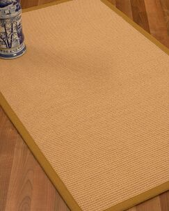 Lafayette Border Hand-Woven Wool Beige/Sienna Area Rug Rug Pad Included: No, Rug Size: Rectangle 3' x 5'