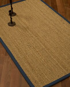 Vanmatre Border Hand-Woven Beige/Black Area Rug Rug Size: Rectangle 9' x 12', Rug Pad Included: Yes