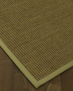 Chavez Border Hand-Woven Beige/Sand Area Rug Rug Pad Included: No, Rug Size: Rectangle 3' x 5'