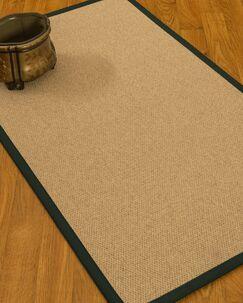 Chavira Border Hand-Woven Wool Beige/Onyx Area Rug Rug Size: Rectangle 9' x 12', Rug Pad Included: Yes