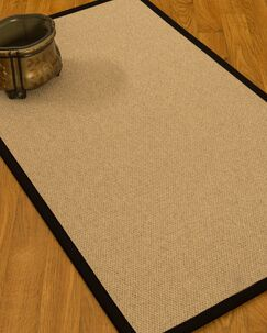 Chavira Border Hand-Woven Wool Beige/Black Area Rug Rug Pad Included: No, Rug Size: Runner 2'6