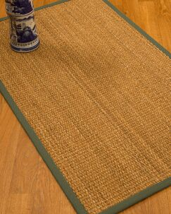 Kimberwood Border Hand-Woven Brown/Fossil Area Rug Rug Pad Included: No, Rug Size: Rectangle 2' x 3'
