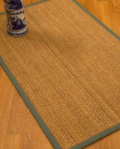 Kimberwood Border Hand-Woven Brown/Stone Area Rug Rug Pad Included: No, Rug Size: Rectangle 3' x 5'