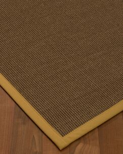 Kerner Border Hand-Woven Brown/Sage Area Rug Rug Size: Rectangle 5' x 8', Rug Pad Included: Yes