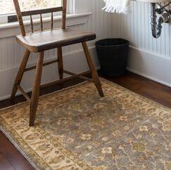 Mina H Woven Wool Gray Area Rug Rug Size: Rectangle 12' x 15'