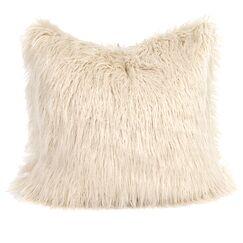 Chaucer Llama Throw Pillow