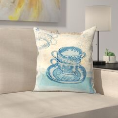 Paula Mills Willow Pattern Throw Pillow Size: 20