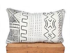 Craney Mud Cloth Pillow Cover