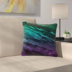 Agate Magic Throw Pillow Size: 18