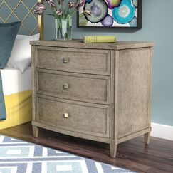 Albright Contemporary 3 Drawer Nightstand
