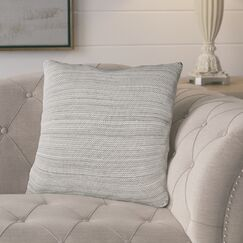 Carson Knit 100% Cotton Throw Pillow