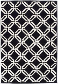 Crofoot Wool Black Indoor/Outdoor Area Rug Rug Size: Rectangle 2' x 3'