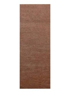 Yesica Hand-Woven Wool Light Brown Area Rug Rug Size: Runner 2'6