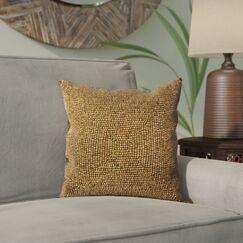 Sieben Throw Pillow Size: 20 H x 20 W x 0.5 D, Color: Green