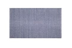 Mcgreevy Hand-Woven Cotton Blue Area Rug Rug Size: Rectangle 6' x 9'